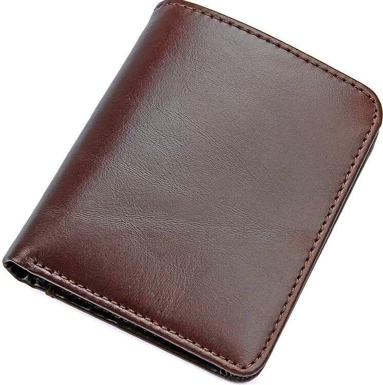 096fa3eb3071 Бумажник мужской Vintage 14506 кожаный Коричневый купить в интернет ...