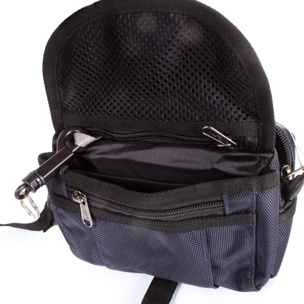 262c907d2439 Мужская спортивная сумка ONEPOLAR (ВАНПОЛАР) W3172-navy купить в ...