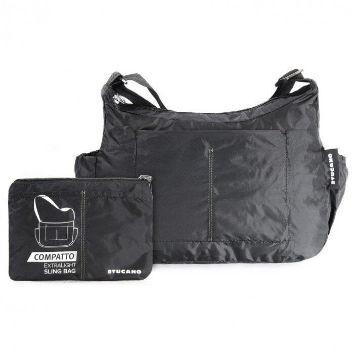 Сумка Tucano Compatto XL Sling Bag Packable[Black]