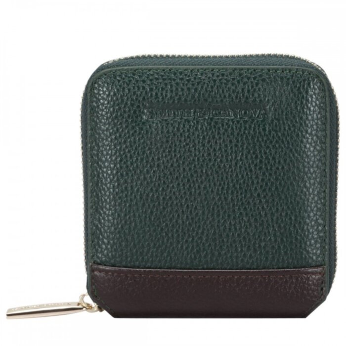 Кошелек женский Smith & Canova 26803 Althorp (Green-Brown)
