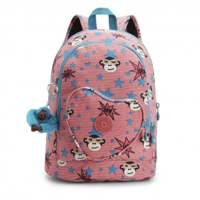 Рюкзак Kipling Heart Backpack K21086_25Z Розовый (Бельгия)