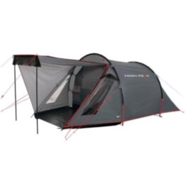 Палатка High Peak Ascoli 3 (Dark grey/Red)