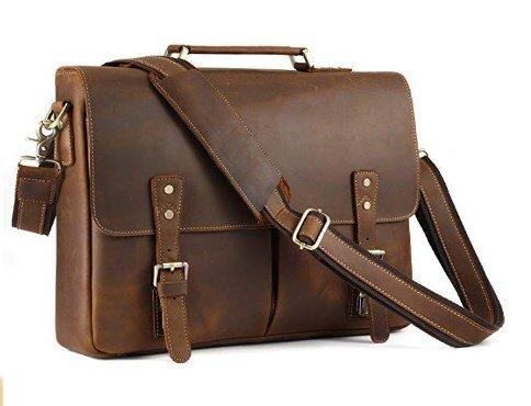 006084f989e2 Мужской кожаный портфель TIDING BAG t0016 купить в интернет-магазине ...