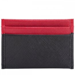 Картхолдер Smith & Canova 26827 Devere (Black-Red)