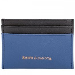 Картхолдер Smith & Canova 26827 Devere (Navy-Black)