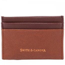 Картхолдер Smith & Canova 26827 Devere (Tan-Brown)