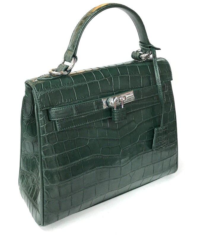 de9d177feb83 Сумка из кожи крокодила (BCM 723 Green) купить в интернет-магазине ...
