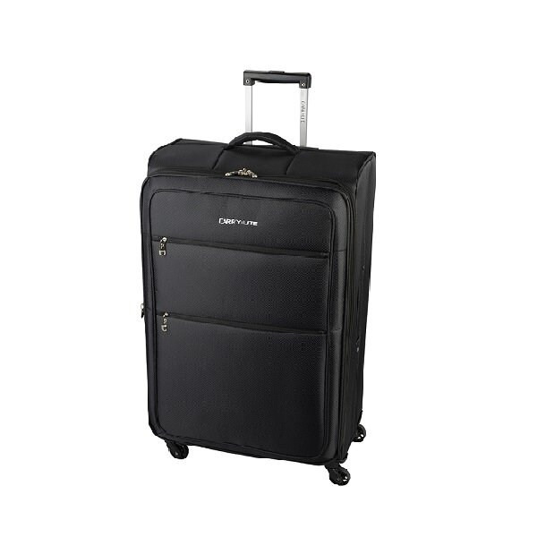 Чемодан Carry:Lite Diamond Black (M)